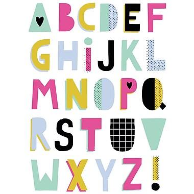 Secretly Designed 'ABC Summer' Textual Art