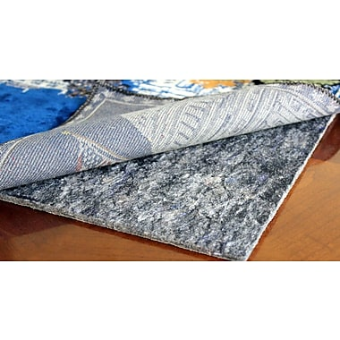 RugPadUSA Anchor Grip 30 0.375'' Felt and Rubber Rug Pad; Square 4'