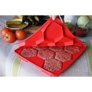 Shape+Store 32 Oz. Burger Master 8-in-1 Press and Freezer Container