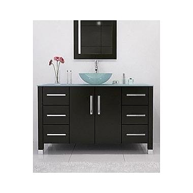 JWH Living Grand Crater 47.25'' Single Bathroom Vanity Set