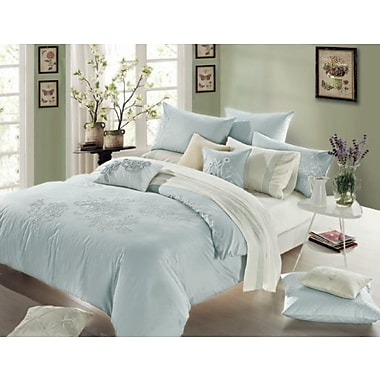Melange Home 3 Piece Reversible Duvet Cover Set; Full / Queen