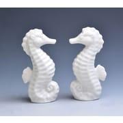 DrewDeRoseDesigns 2 Piece Seahorse Salt & Pepper Shaker Set