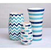 DrewDeRoseDesigns 3 Piece Vase Set