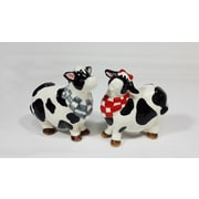 CosmosGifts Cow Salt and Pepper Set