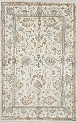ECARPETGALLERY One-of-a-Kind Royal Ushak Hand-Knotted Gray Area Rug