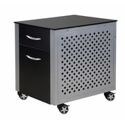 "Intro-Tech FC230B Desk File Cabinet, 27"" x 23"" x 25"", 63 lbs, Black, 30"" x 26"" x 28"", 63 lbs"