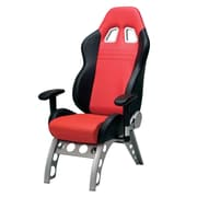 "Intro-Tech GT4000R GT Receiver Chair, 23"" x 24"" x 50"", 61 lbs, Red, (1) 53"" x 24"" x 12"" (2) 31"" x 18"" x 14"", 60 lbs."