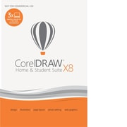 CorelDRAW Home & Student Suite X8 Software [Download]