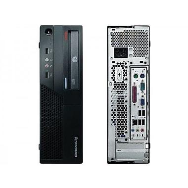 Lenovo - PC THINKCENTRE remis à neuf SFF Intel Core 2 Duo E8400 3GHz, 4Go, 250Go, Windows 10 familial, anglais