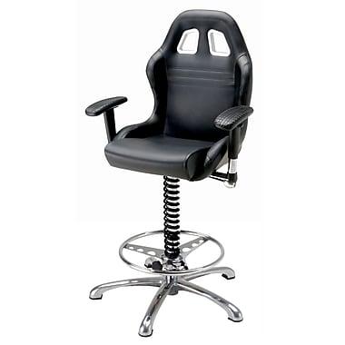 Intro-Tech – Fauteuil style « position de tête » BC6000B, 23 x 24 x 50 (po), 57 lb, noir, 27 x 23 x 26 (po), 56 lb