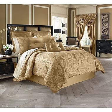 Five Queens Court Colonial 4 Piece Comforter Set; King
