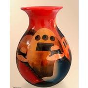 Novica The Monastery Ceramic Vase