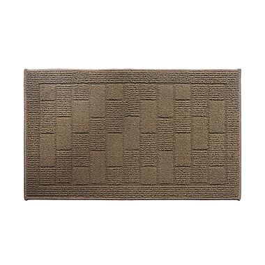 AttractionDesignHome Brown Area Rug