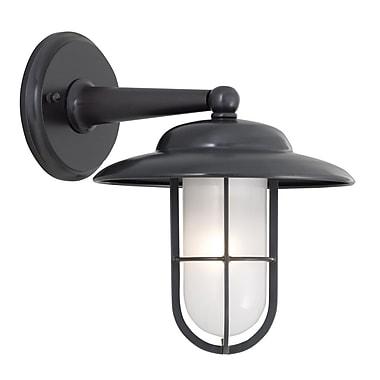 Norwell Lighting Compton 1-Light Outdoor Wall lantern; Bronze