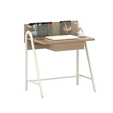 Inland ProHT Compact Writing Desk; Walnut