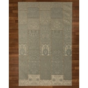 Natural Area Rugs Moon Blue Area Rug