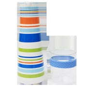 TopChoice Pocelain 3 Cup Water Carafe and Glass Tumbler Set