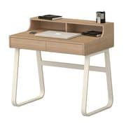Inland ProHT Writing Desk; Dark Walnut