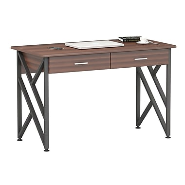 Inland ProHT Writing Desk; Walnut