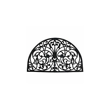 J&M Home Fashions Wrought Iron Arch Doormat
