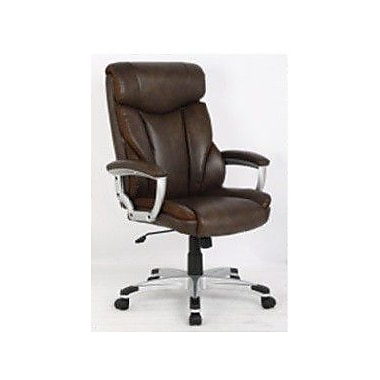 Inland ProHT High-Back Executive Chair; Brown
