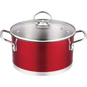 Prime Cook Stainless Steel 3-qt Soup Pot w/ Lid