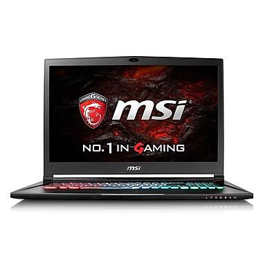 MSI - Portatif de jeu GS73VR Stealth Pro 17,3 po, Core i7-6700HQ 2,6 GHz, 16 Go, DD 1 To et SSD 128Mo, GeForce GTX 1060, Win10