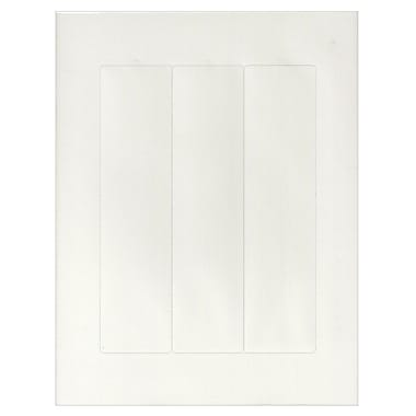 The Mighty Badge Classic Sign Insert Sheets™, Laser, Clear, 2