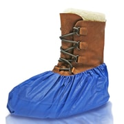 BlueMed Bonzo HD Shoe Covers, Waterproof, X-Large, Deep Blue, 500/Pack (SHS-4352)