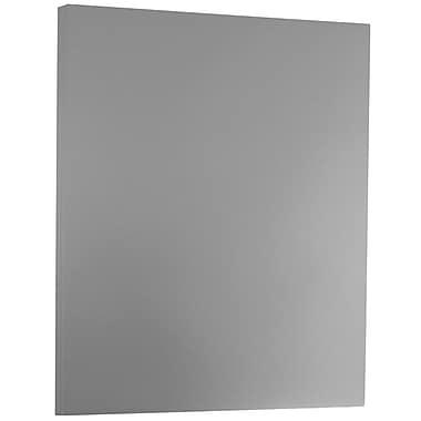 Jam PaperMD – Papier métallisé à une seule face brillante, 8 1/2 x 11 po, argenté, 50 feuilles/paquet