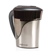 ZeroWater 8 Cup Stainless Steel Pitcher with Free TDS Meter (Total Dissolved Solids) (ZS-008)