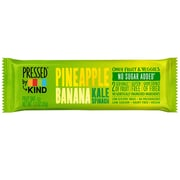 Kind Pressed Pineapple Banana Kale Spinach Bar