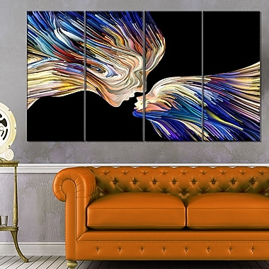 Metaphorical Mind Painting SENSUAL Metal Wall Art