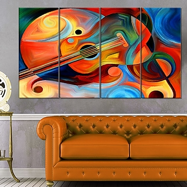 Music and Rhythm Abstract Metal Wall Art