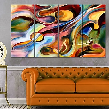 Music beyond the Frames Music Abstract Metal Wall Art