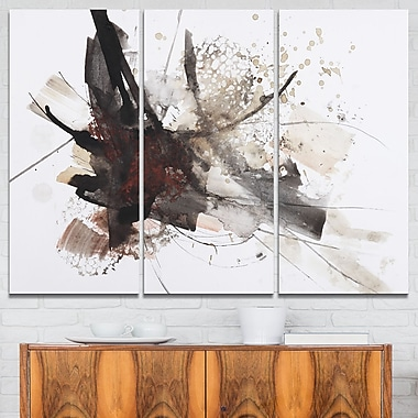Artistic Splash Landscape Metal Wall Art
