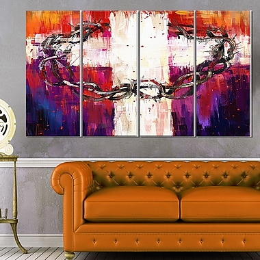 Crown of Thorns Abstract Wall Art