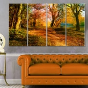 Beauty of Nature Landscape Metal Wall Art