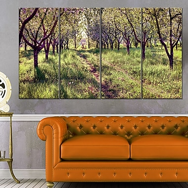 Blossom Apples Garden Photography Metal Wall Art