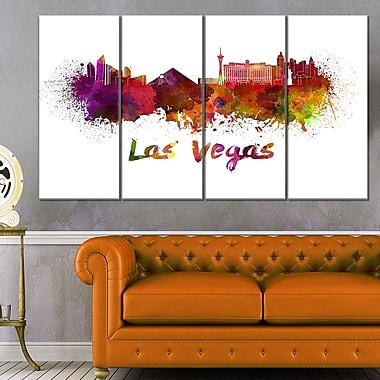 Art mural horizon de la ville de Las Vegas