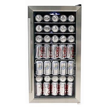 Whynter Refrigerator, Black/Stainless Steel (BR-125SD)