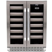 Whynter Wine Cooler, Silver (BWR-401DS)