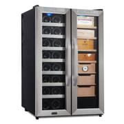 Whynter CWC-351DD Freestanding 3.6 cu. ft. Wine Cooler and Cigar Humidor Center