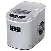 Whynter Compact Portable Ice Maker 27 lb capacity - Metallic Silver (IMC-270MS)