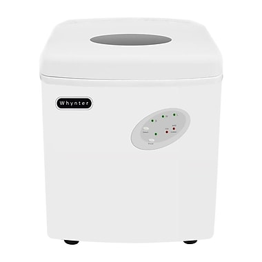 Whynter Portable Ice Maker 33 lb Capacity - White (IMC-330WS)