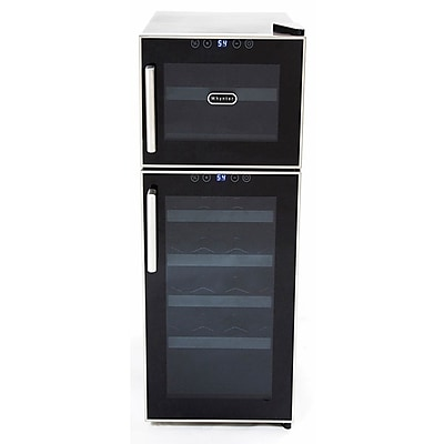 Whynter WC-212BD Freestanding 21 Bottle Dual Zone Wine Cooler
