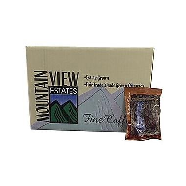 Mountain View Coffee Fair Trade Full City Roast Ground Coffee Pouches, 2 oz , 60/Pack (FTFC2)