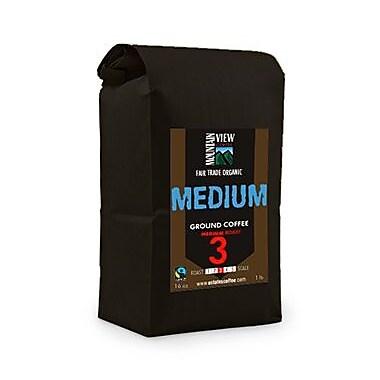 Mountain View Coffee Fair Trade Medium Ground Coffee, 1 lb, 6/Pack (FTMG1C)