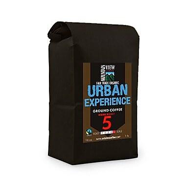 Mountain View Coffee Fair Trade Urban Experience Ground Coffee, 1 lb, 6/Pack (FTURG1C)