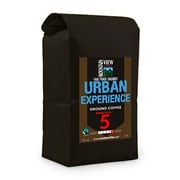 Mountain View Coffee Fair Trade Urban Experience Ground Coffee, 1 lb, 6/Pack (FTURG1C)